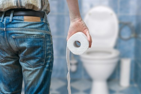 Посещение туалета после удаления геморроя